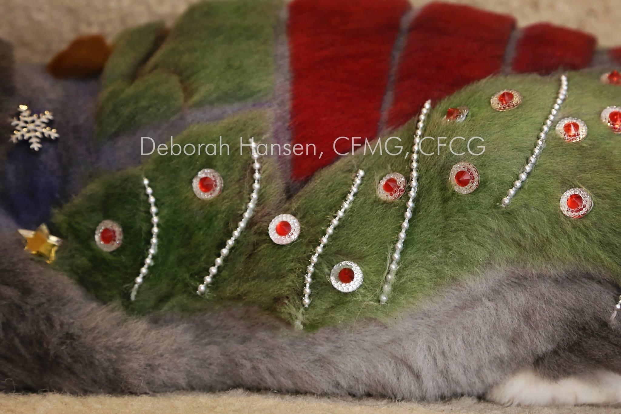 Christmas in July by Deborah Hansen, CFMG, CFCG, creative cat grooming